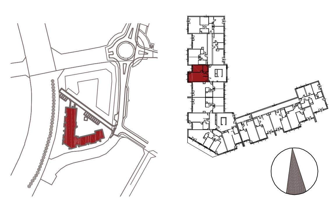 Kameralna Olszówka / budynek 1 / mieszkanie KO/B/3/2 rzut 2